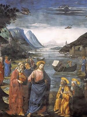 Ghirlandaio, Chiamata degli apostoli